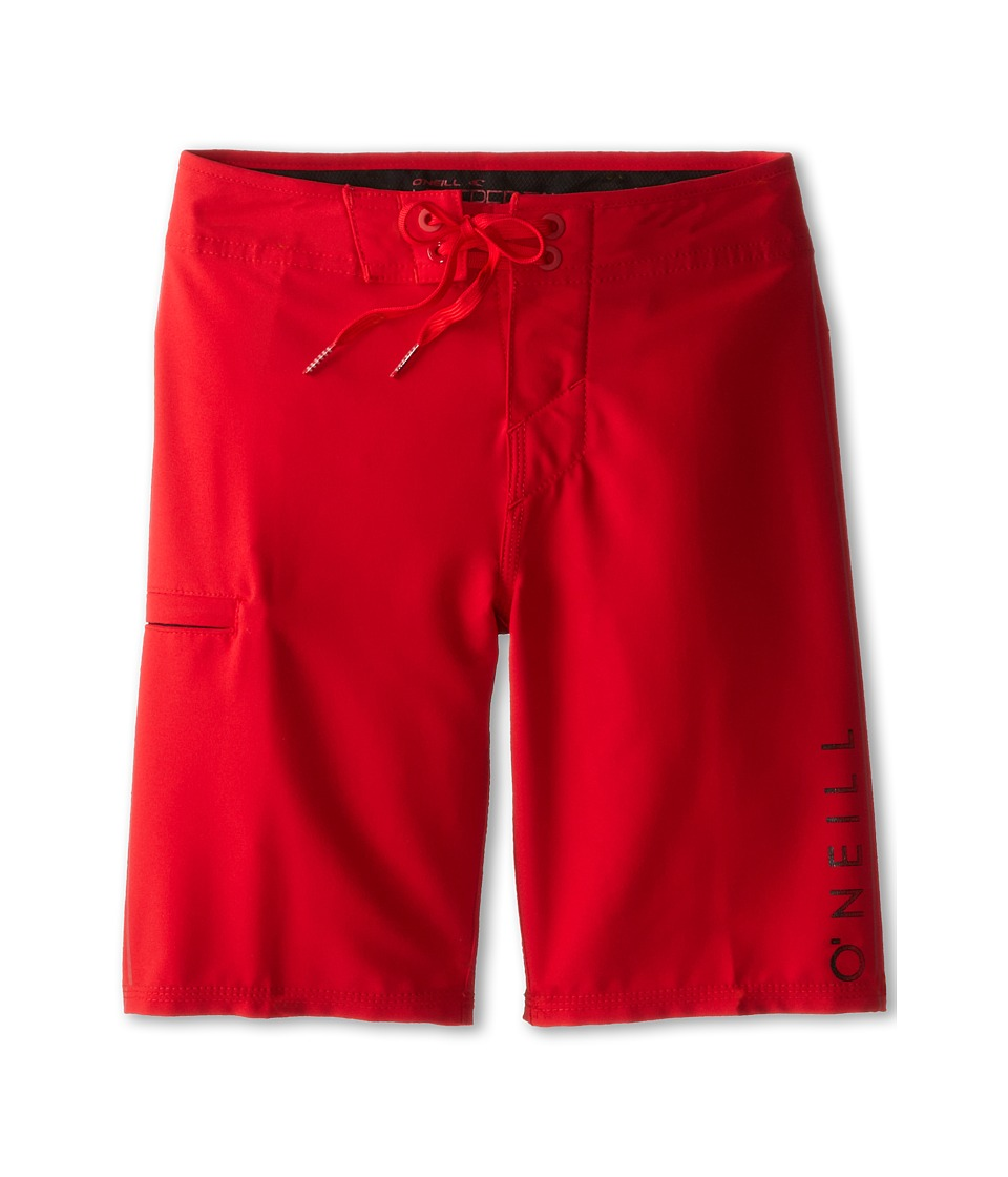 O'Neill Kids - Santa Cruz Stretch (Big Kids) (Red) Boy's Swimwear
