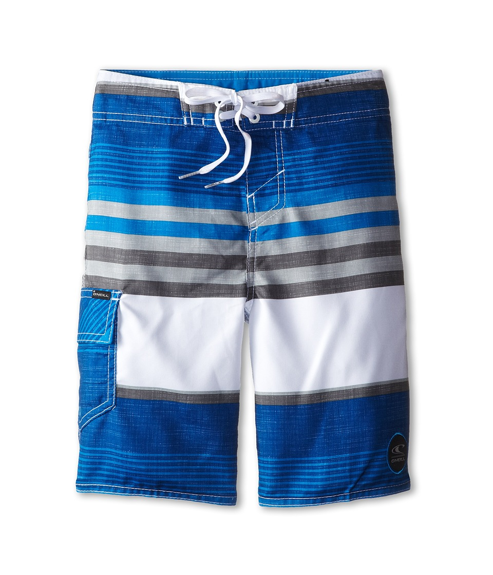 O'Neill Kids - Santa Cruz Stripe (Big Kids) (Blue) Boy's Swimwear