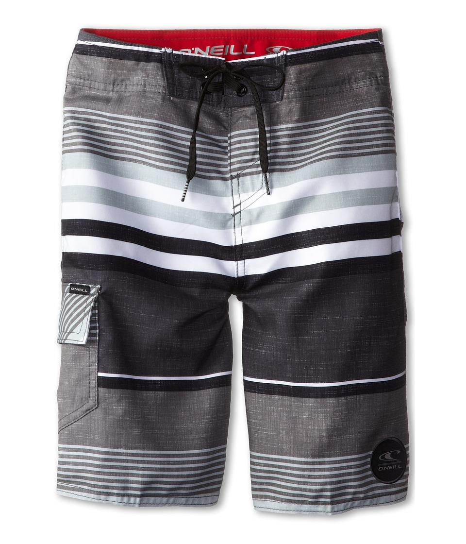 O'Neill Kids - Santa Cruz Stripe (Big Kids) (Grey) Boy's Swimwear