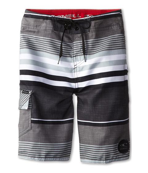 O'Neill Kids - Santa Cruz Stripe (Big Kids) (Grey) Boy's Swimwear