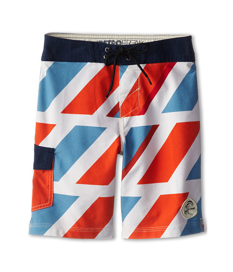 O'Neill Kids - Hashtag (Big Kids) (Light Blue) Boy's Swimwear