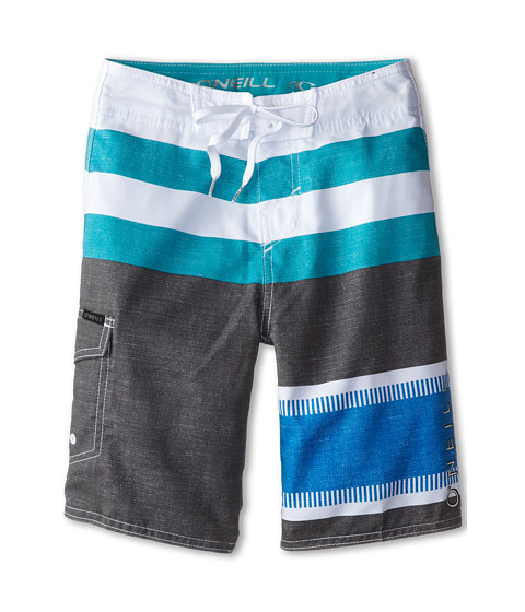 O'Neill Kids - Lennox (Big Kids) (Charcoal) Boy's Swimwear