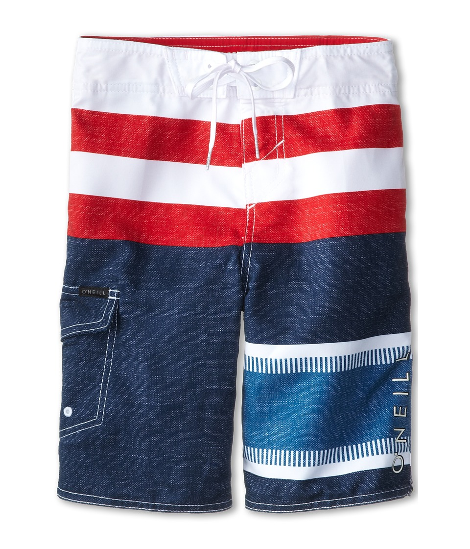 O'Neill Kids - Lennox (Big Kids) (Dark Navy) Boy's Swimwear