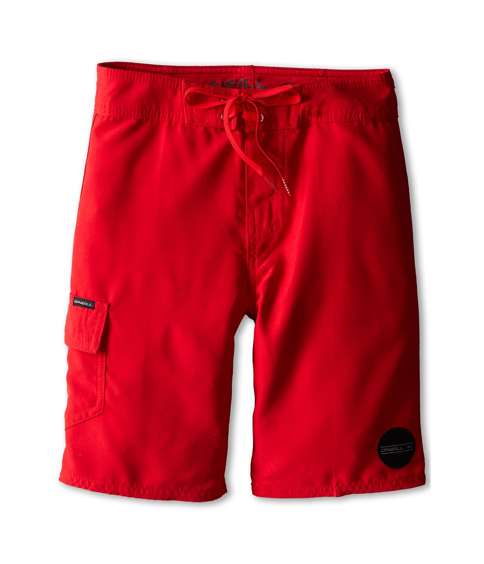 O'Neill Kids - Santa Cruz Solid (Big Kids) (Red) Boy's Swimwear