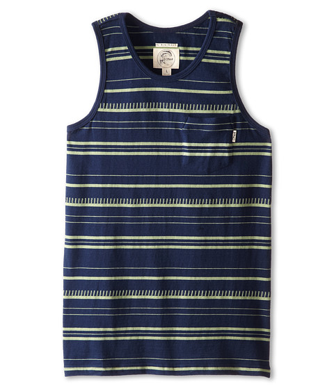 O'Neill Kids - Lucky Strike (Big Kids) (Dark Navy) Boy's Sleeveless