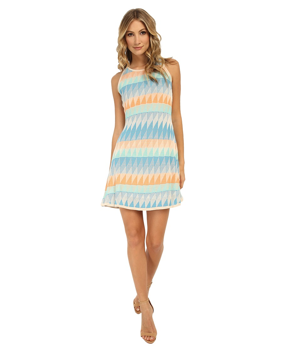 Shoshanna Blythe Dress (Cyan Multi) Women