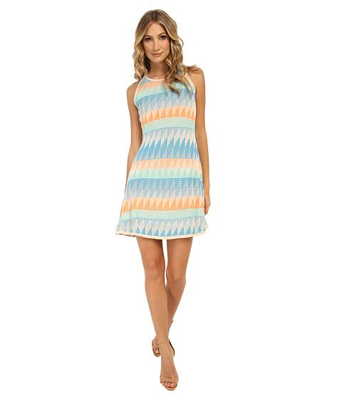 Shoshanna - Blythe Dress (Cyan Multi) Women