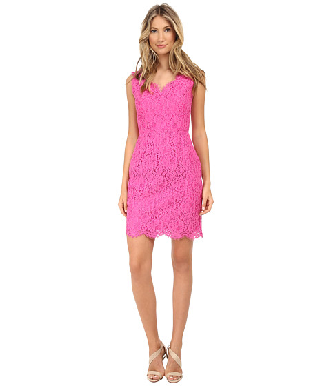 Shoshanna - Pamela Dress (Fuchsia) Women's Dress