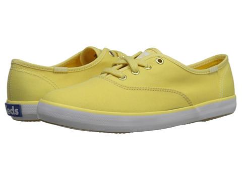 Keds - Champion Seasonal Solids (Lemon Yellow) Women