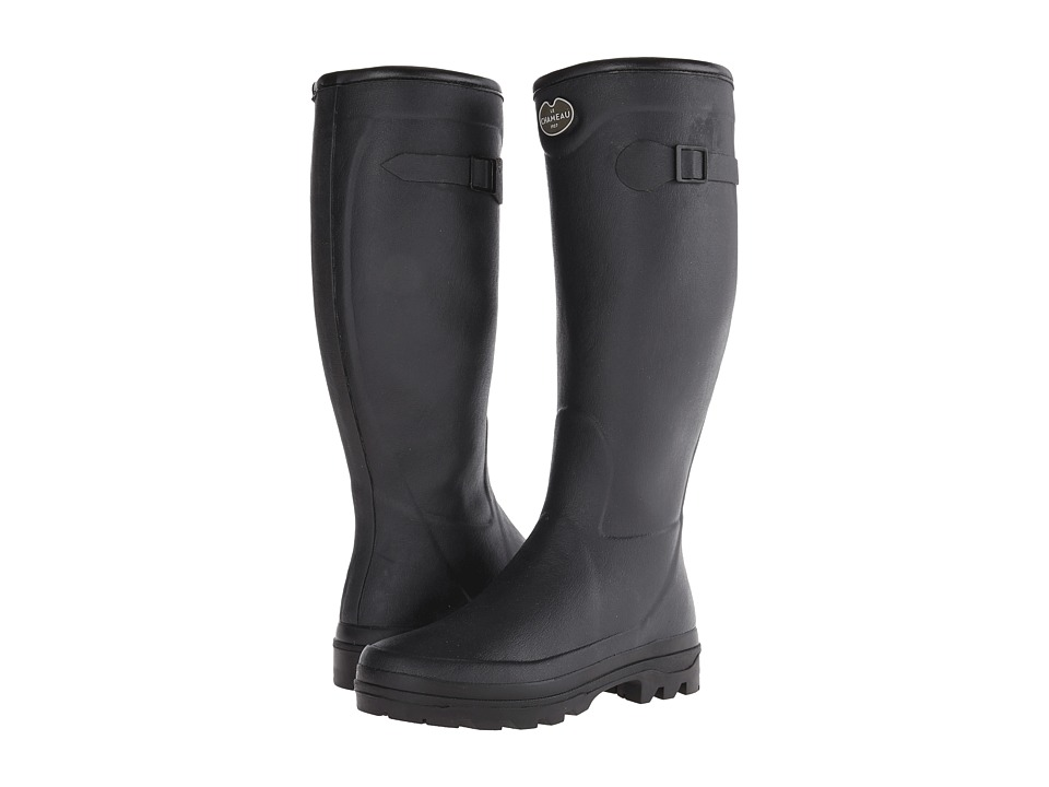 Le Chameau - Country LD (Black) Women's Boots