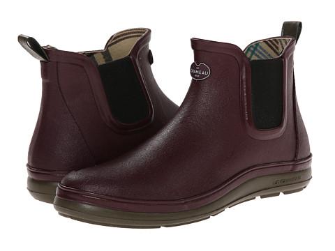 Le Chameau - Belleville Chelsea (Cherry/Chameau Green) Women's Boots