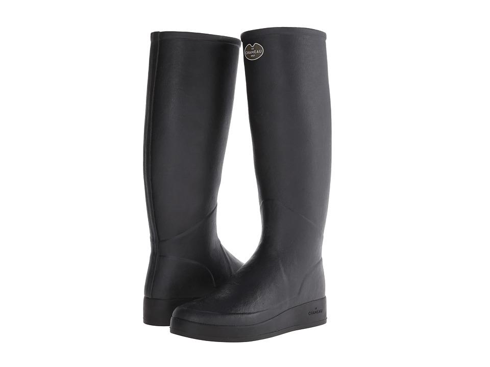 Le Chameau - Paris LD (Black) Women's Rain Boots