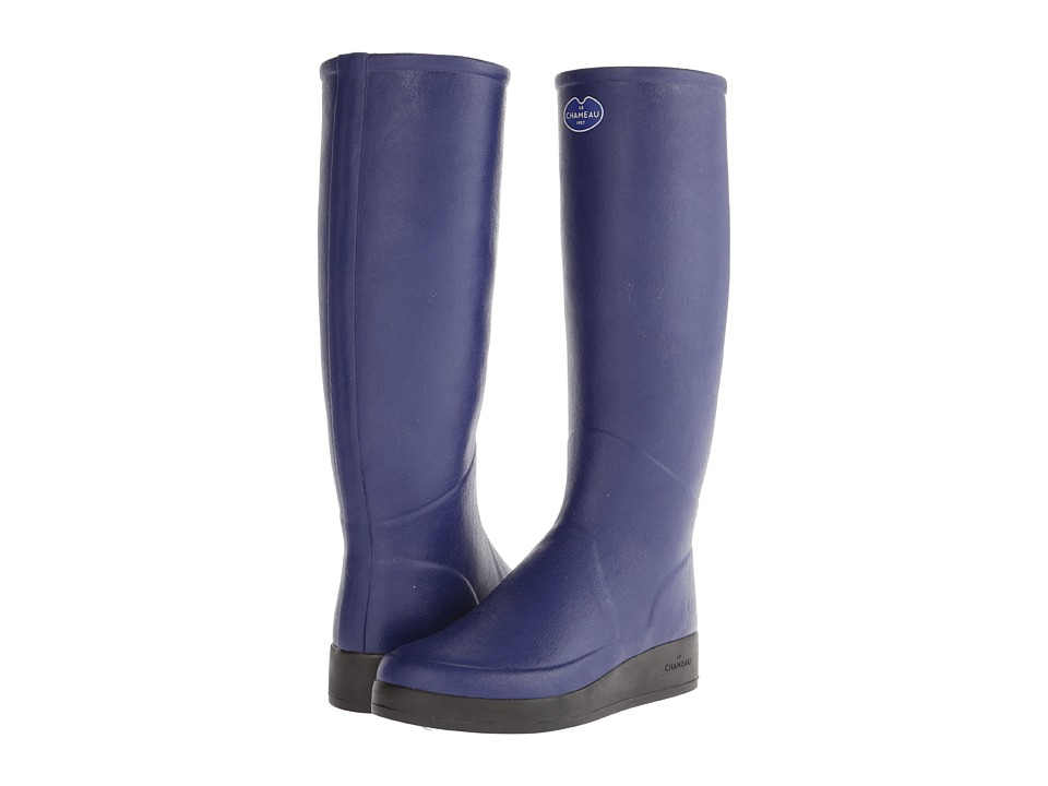 Le Chameau - Paris LD (Midnight Blue) Women's Rain Boots