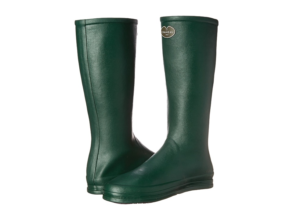 Le Chameau - Cabourg (Forest Green/Violet) Women's Boots