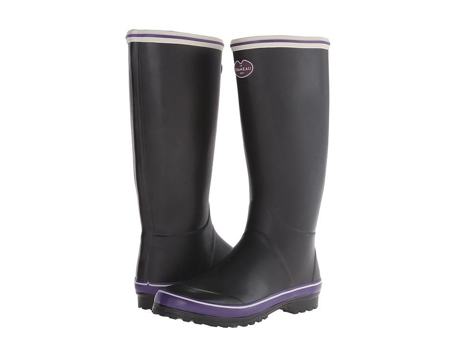 Le Chameau - Monceau (Black/Violet) Women's Boots