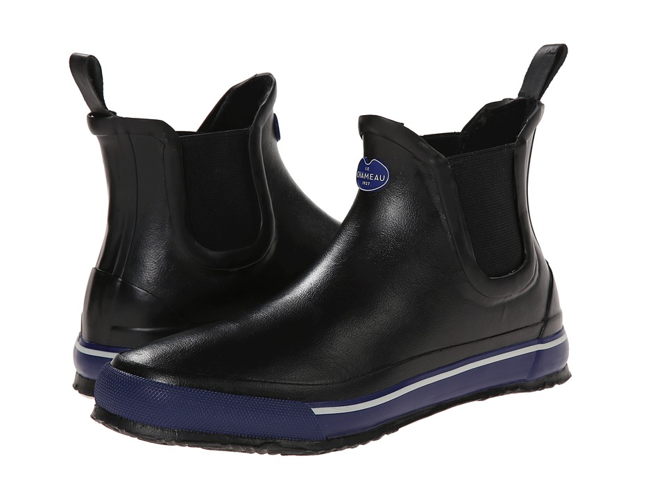 Le Chameau - Monceau Chelsea (Black/Midnight Blue) Women's Boots