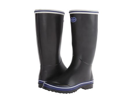 Le Chameau - Monceau (Black/Midnight Blue) Women's Boots