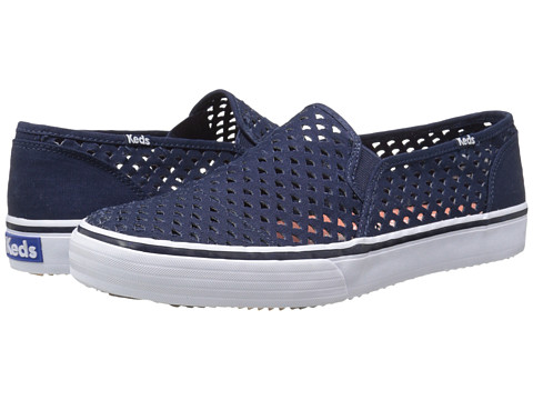 Keds - Double Decker Perf (Navy) Women