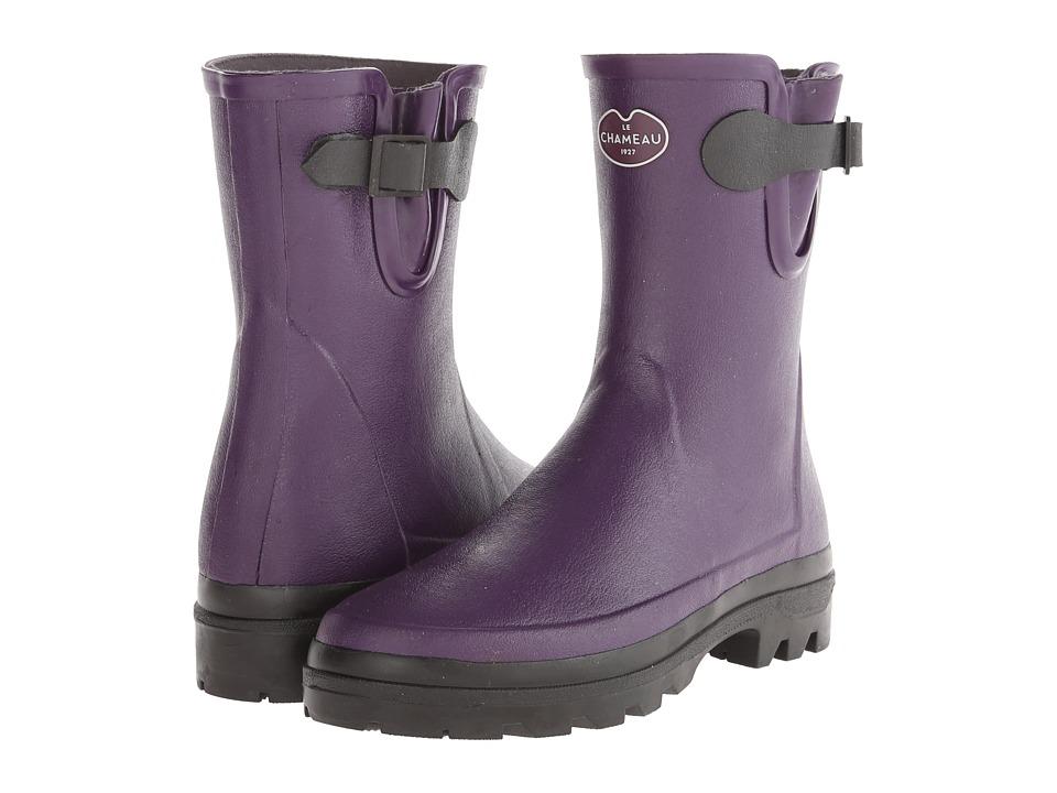 Le Chameau - Vierzon LD Low (Violet) Women's Boots