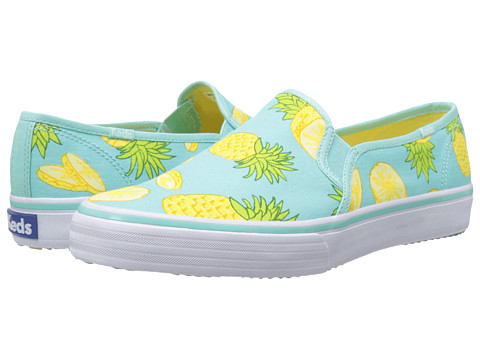 Keds - Double Decker Picnic (Pineapple) Women's Slip on Shoes