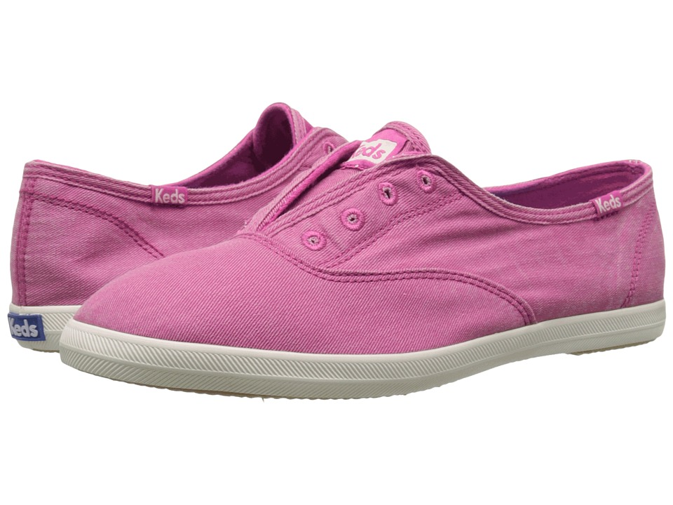 Keds Chillax Seasonal Solids (Pink) Women