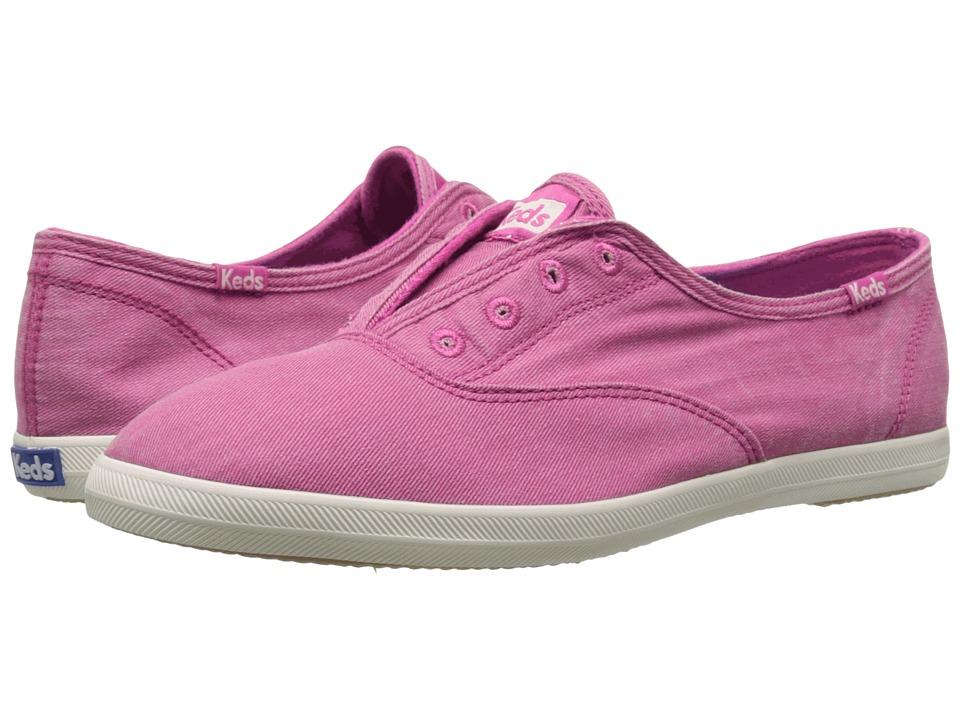 Keds - Chillax Seasonal Solids (Pink) Women's Slip on Shoes