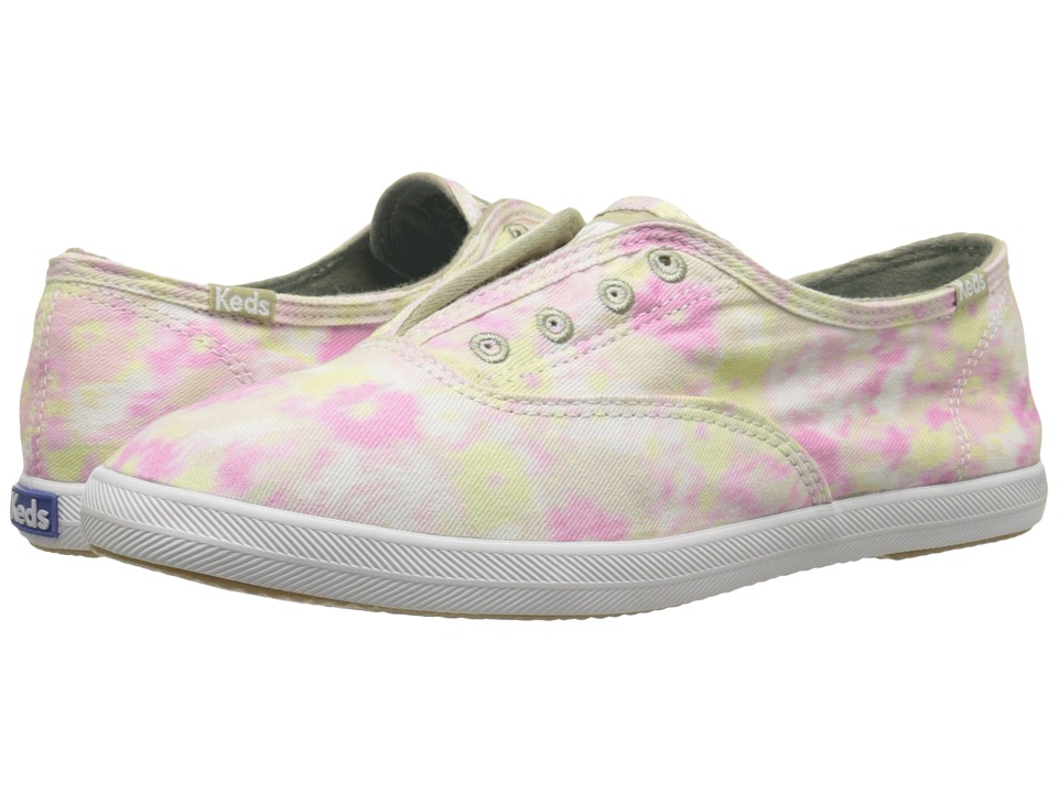 Keds - Chillax Cotton Candy (Pink Multi) Women's Slip on Shoes