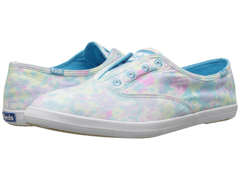 Keds - Chillax Cotton Candy (Blue Multi) Women