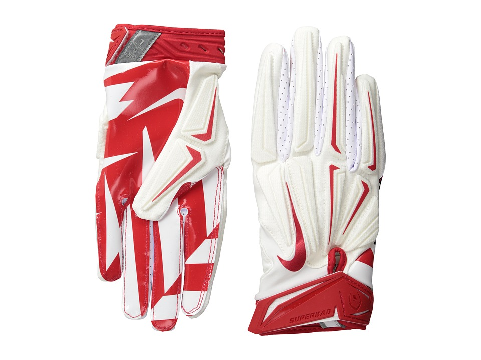 Nike - Superbad 3.0 (White/University Red/Black/University Red) Athletic Sports Equipment