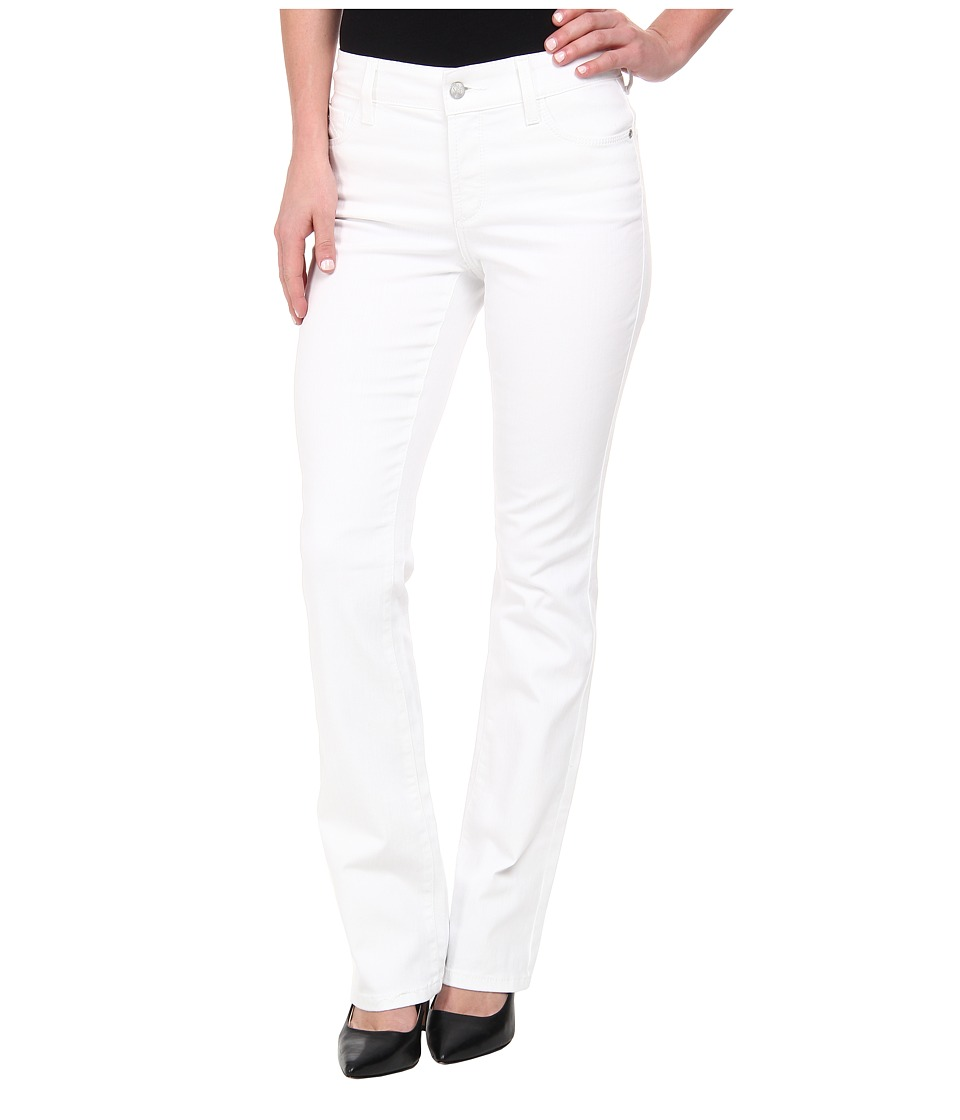 NYDJ - Billie Mini Boot in Optic White (Optic White) Women's Jeans