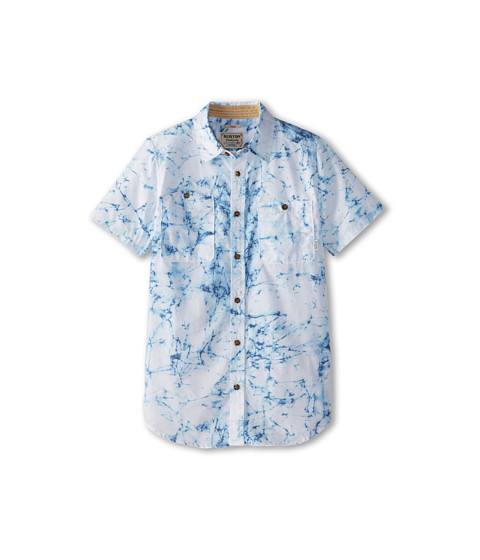 Burton Kids - Glade S/S Shirt (Little Kids/Big Kids) (Indigo Stone Print) Boy