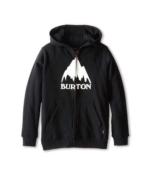 Burton Kids - Classic Mountain Full Zip Hoodie (Big Kids) (True Black) Boy