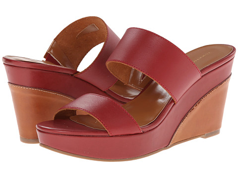 Tommy Hilfiger - Kadine (Dark Red Leather) Women's Shoes