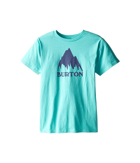 Burton Kids - Classic Mountain S/S Tee (Big Kids) (Lagoon) Boy