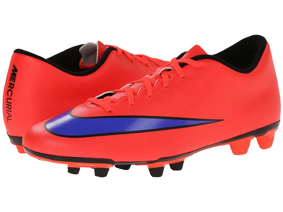 Nike - Mercurial Vortex II FG (Bright Crimson/Persian Violet) Men