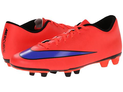 Nike - Mercurial Vortex II FG (Bright Crimson/Persian Violet) Men