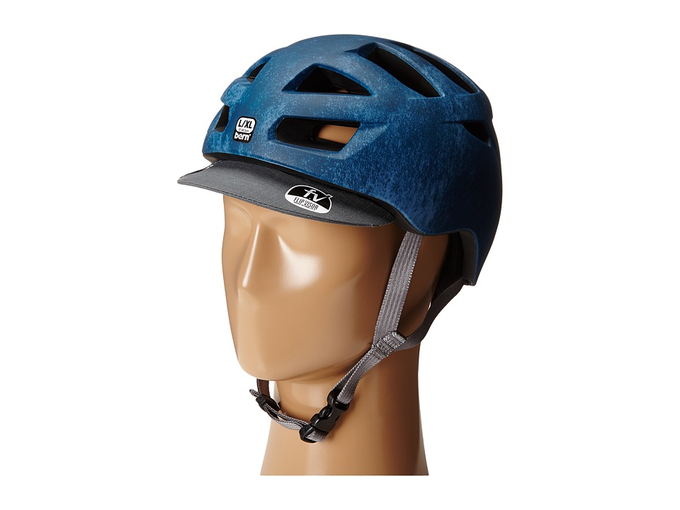 Bern - Allston Bike (Matte Blue Acid Wash) Cycling Helmet