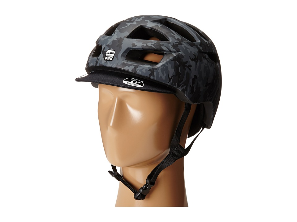 Bern - Allston Bike (Matte Black Camo) Cycling Helmet