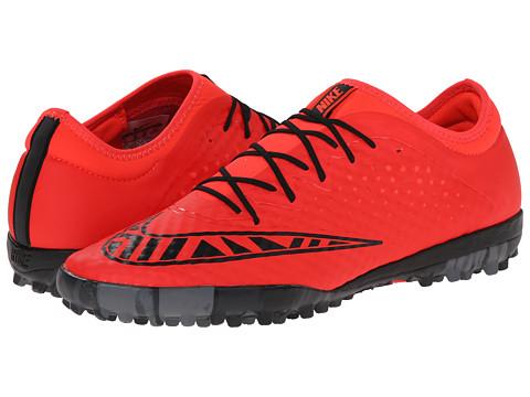 Nike - Mercurial Finale TF (Bright Crimson/Hot Lava/Black) Men's Soccer Shoes