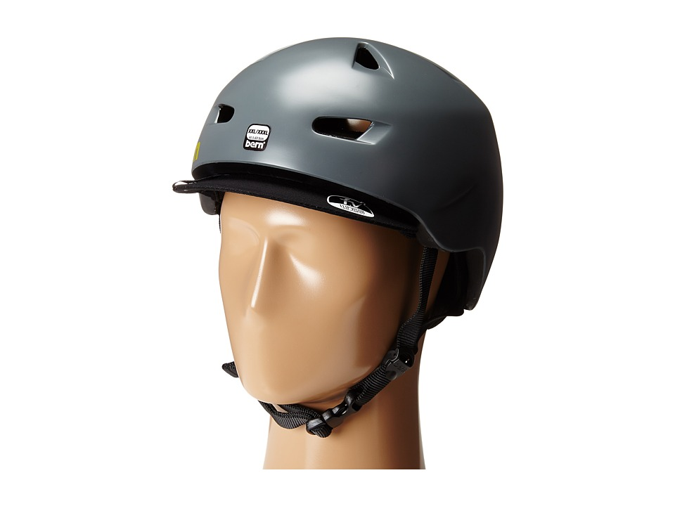 Bern - Brentwood Bike (Satin Charcoal Grey) Cycling Helmet