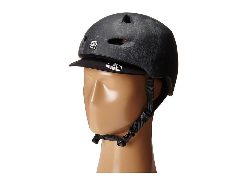 Bern - Brentwood Bike (Matte Black Acid Wash) Cycling Helmet