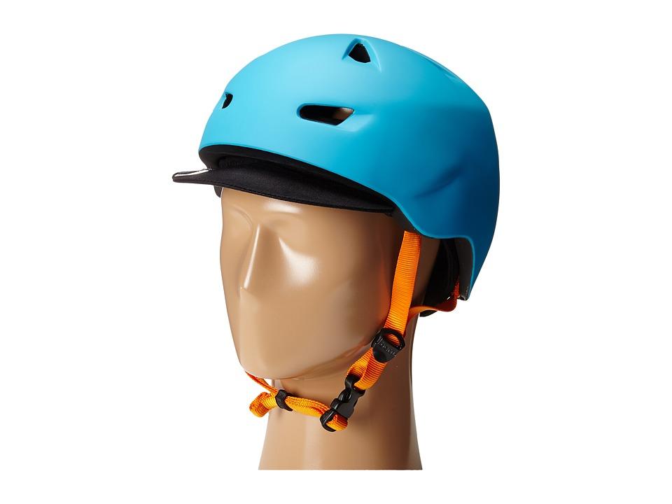 Bern - Brentwood Bike (Matte Bright Blue) Cycling Helmet