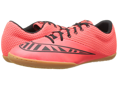 Nike - Mercurial Pro IC (Bright Crimson/Hot Lava/Black) Men's Soccer Shoes