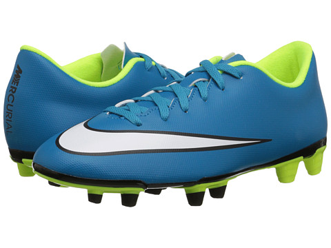 Nike - Mercurial Vortex II FG (Blue Lagoon/Volt/Black/White) Women