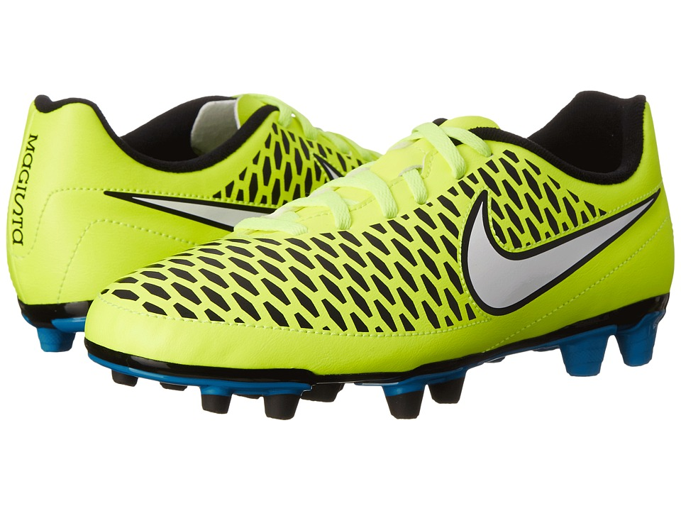 Nike - Magista Ola FG (Volt/Blue Lagoon/Black/White) Women