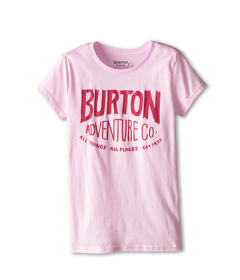 Burton Kids - All Things All Places S/S Tee (Big Kids) (Parfait Pink) Girl