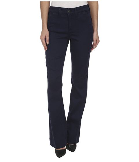 NYDJ - Michelle Trouser - Slick Twill (Oxford Blue) Women's Casual Pants