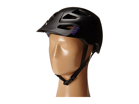 Bern - Prescott w/ Hard Visor (Satin Black) Snow/Ski/Adventure Helmet