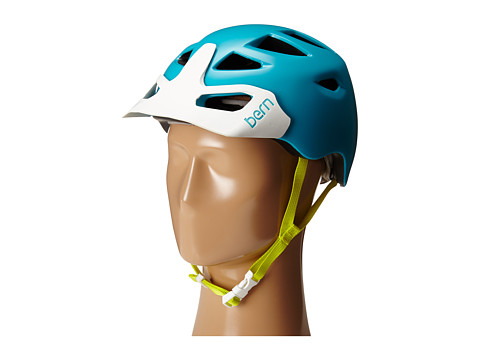Bern - Prescott w/ Hard Visor (Satin Teal Blue) Snow/Ski/Adventure Helmet