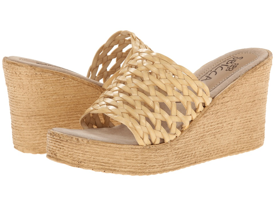 Sbicca - Gallatin (Natural) Women's Wedge Shoes